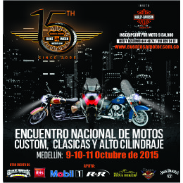 15th CLASSIC & CUSTOM BIKE WEEK MEDELLÍN